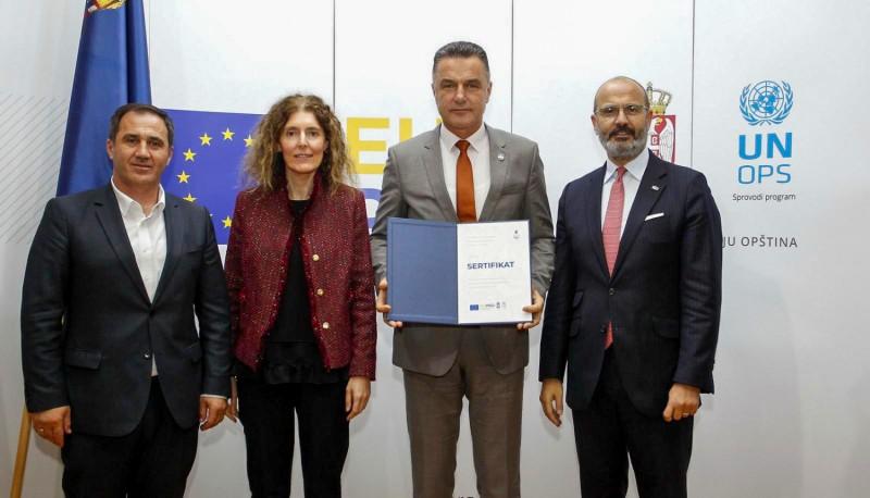 Podrška Evropske unije konkurentnosti kroz modernizaciju rada lokalnih samouprava i malog biznisa