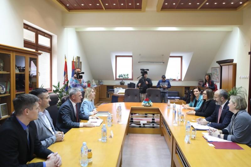 Sastanak sa gradonačelnikom
